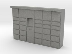 Parcel Locker 1/87 in Gray PA12