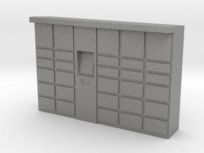 Parcel Locker 1/76 in Gray PA12
