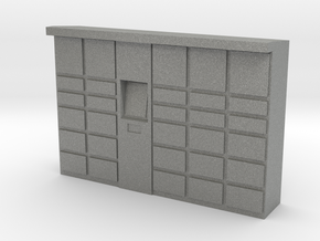 Parcel Locker 1/72 in Gray PA12