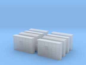 Parcel Locker (x8) 1/285 in Smooth Fine Detail Plastic