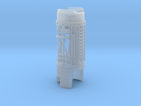 89 Sabers MPP2.5 Mk2 Crystal Chamber Chassis P2 in Smooth Fine Detail Plastic