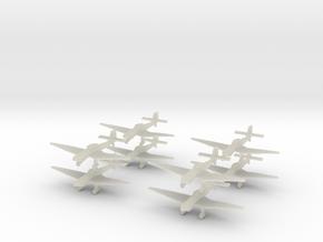 Ju87d-350-x8 in Transparent Acrylic