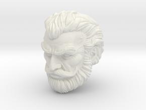 Fisto head Norem style origins in White Natural Versatile Plastic