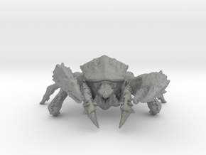 Mutant Giant Crab 105mm miniature model fantasy wh in Gray PA12
