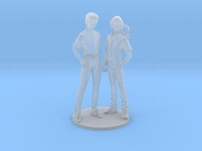 1/72 Standing Spectators Alto and Michael in Smooth Fine Detail Plastic