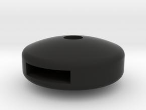 British throttle knob in Black Premium Versatile Plastic