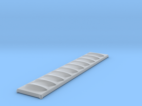 Tarp Cover for Gondola - Nscale in Smooth Fine Detail Plastic