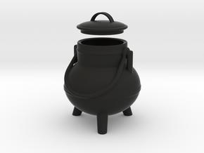 Pote Gallego Little Box in Black Natural Versatile Plastic