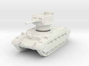 Matilda II BEF 1/144 in White Natural Versatile Plastic