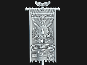 Flesh Rippers Banner in Smooth Fine Detail Plastic: Medium