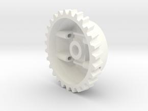 Lombardini LGA 280 LGA 340 governor cogwheel in White Processed Versatile Plastic