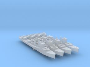 4pk sprue HMS Vega V-class destroyer 1:2500 WW2 in Smooth Fine Detail Plastic
