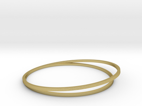 pulseira_baixa_circulo_no_meio_com_angulo__meio_65 in Natural Brass