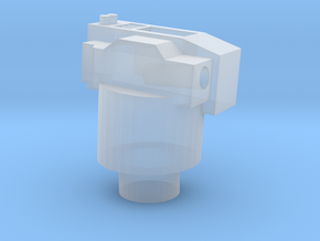 UK Vosper MTB 6 pounder mount 1:64-S WW2 in Smooth Fine Detail Plastic