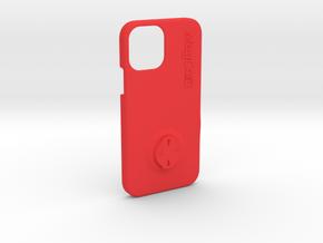 iPhone 12 Pro Wahoo Mount Case in Red Processed Versatile Plastic