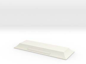 Master Display Stand  in White Natural Versatile Plastic: 1:700