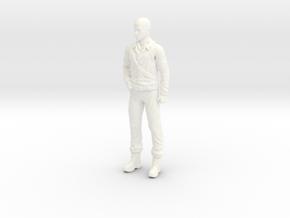 Fantastic Voyage - Dr. Michaels - Standing - 1.35 in White Processed Versatile Plastic