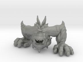 Cyclopean Demon 145mm miniature model fantasy dnd in Gray PA12