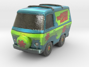 Scooby Doo - The Mystery Machine in Glossy Full Color Sandstone
