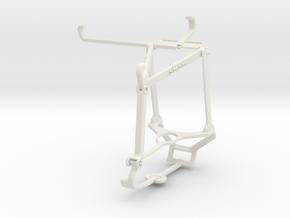 Controller mount for Steam & Xiaomi Poco F3 GT - T in White Natural Versatile Plastic