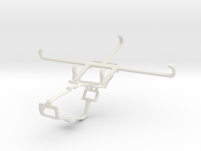 Controller mount for Xbox One & Xiaomi Poco X3 GT in White Natural Versatile Plastic
