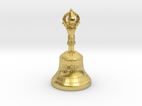 Miniature Dilbu (Bell) in Polished Brass