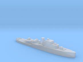 HMS Grimsby escort sloop 1:2500 WW2 in Smooth Fine Detail Plastic