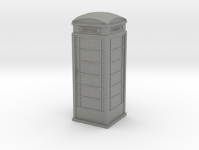 UK Phone Booth 1/72 in Gray PA12