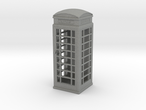 UK Phone Booth 1/64 in Gray PA12