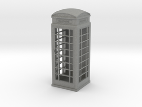 UK Phone Booth 1/43 in Gray PA12
