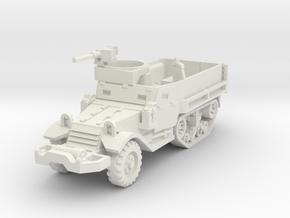 M9A1 Half-Track 1/87 in White Natural Versatile Plastic