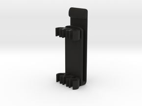"MOLLE Arrow Holder For 9/32"" Arrows in Black Natural Versatile Plastic"