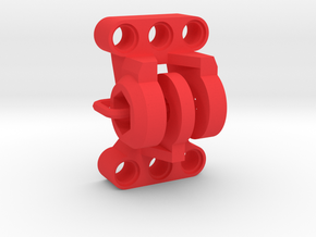 Adapter for GoPro and LEGO® Technic - Color in Red Processed Versatile Plastic
