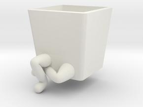 Legs Plants Poses #3 in White Natural Versatile Plastic