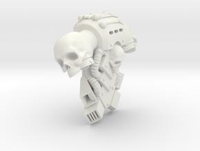 McFarlane Warhammer MK IV backpack Skull in White Natural Versatile Plastic