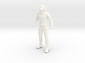 Kamandi - Dr Canus in White Processed Versatile Plastic