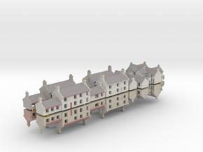 T Gauge (1:450)/1:500 Village Buildings - 24 Pack in Natural Full Color Sandstone