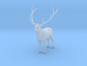 Plastic Male Elk v1 1:64-S 25mm in Smoothest Fine Detail Plastic