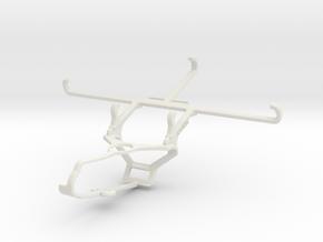 Controller mount for Steam & Motorola Edge 20 Fusi in White Natural Versatile Plastic