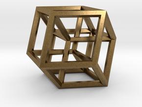 Hypercube B in Natural Bronze