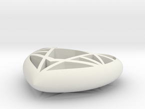 Lowpoly Heart by it's a CYN! in White Natural Versatile Plastic