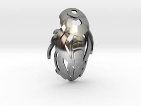 Hollow Knight Dreamer Seal Herrah and Lurien in Antique Silver: Medium