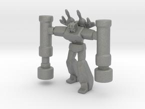 Demolisher Robot miniature model scifi games dnd in Gray PA12