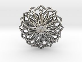 A-LINE Lotus, Pendant in Natural Silver
