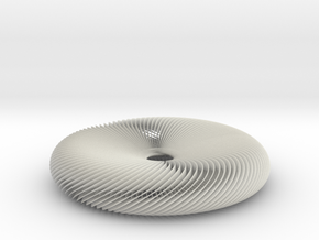 Turbine in White Natural Versatile Plastic