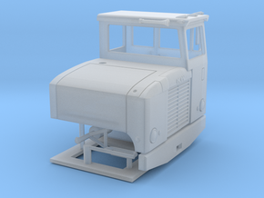 1/87th Kenworth CBE (Cab Beside Engine) Day cab in Smoothest Fine Detail Plastic