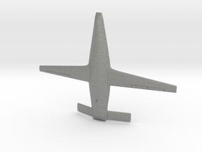 Boeing MQ-25A Stingray CBUAS in Gray PA12: 1:200