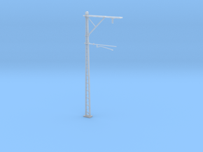 VR Stanchion 76mm (Standard) 1:87 Scale in Smooth Fine Detail Plastic