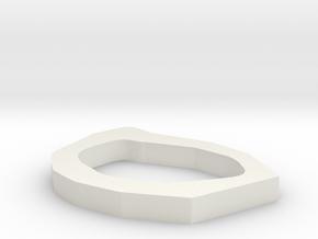 0073 cheetah test spline then polygon in White Natural Versatile Plastic