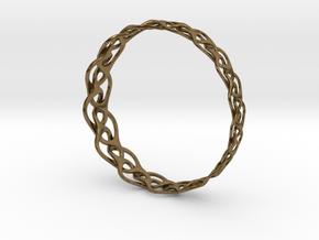 Bracelet I large in Natural Bronze